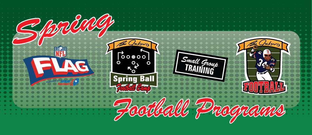 Spring Football- spring & flag