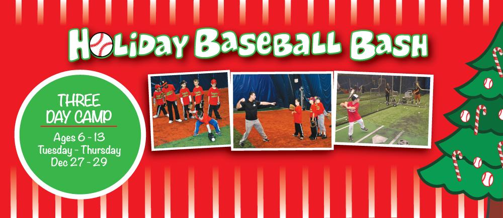 Nov- Holiday Baseball Bash